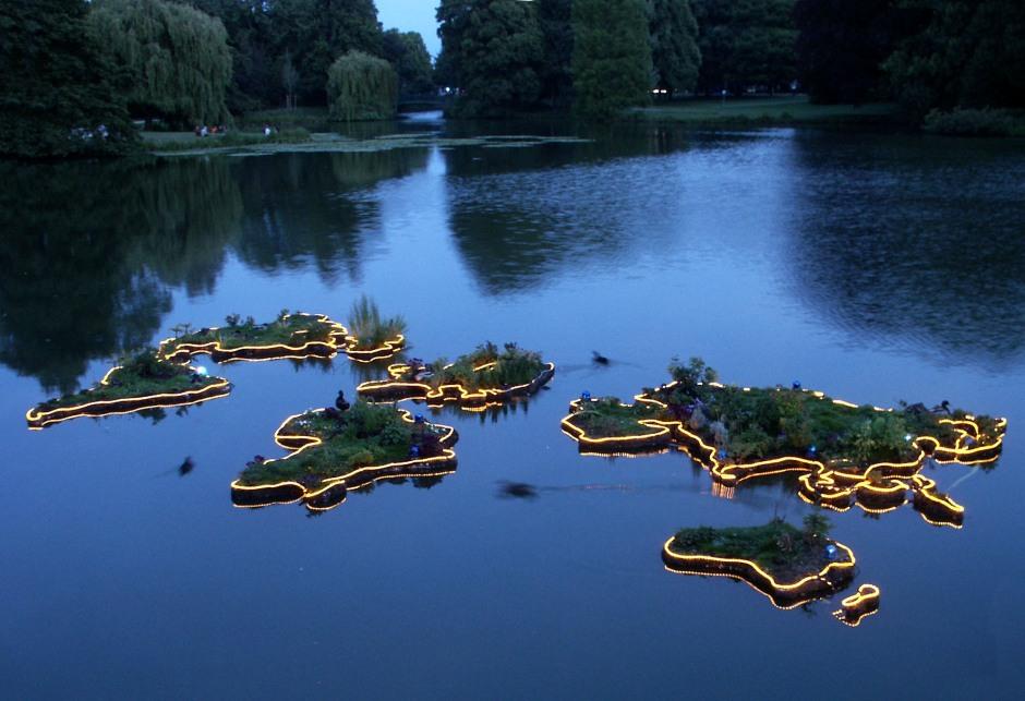 future-islands at night