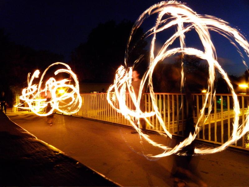 fireshow at SpreeTour