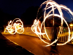fireshow at SpreeTour