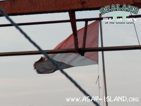 SLM-Trailer - Sealand flag