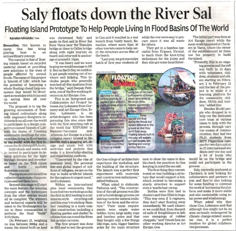Times of India, 3.3.13