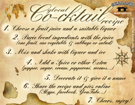 Co-cktail recipe