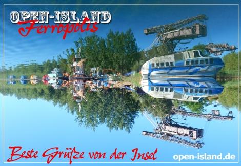 Inselwelt Ferropolis
